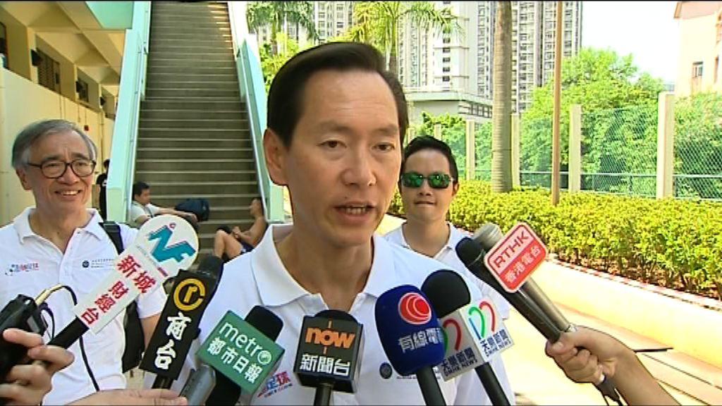陳智思對學生領袖入獄感可惜
