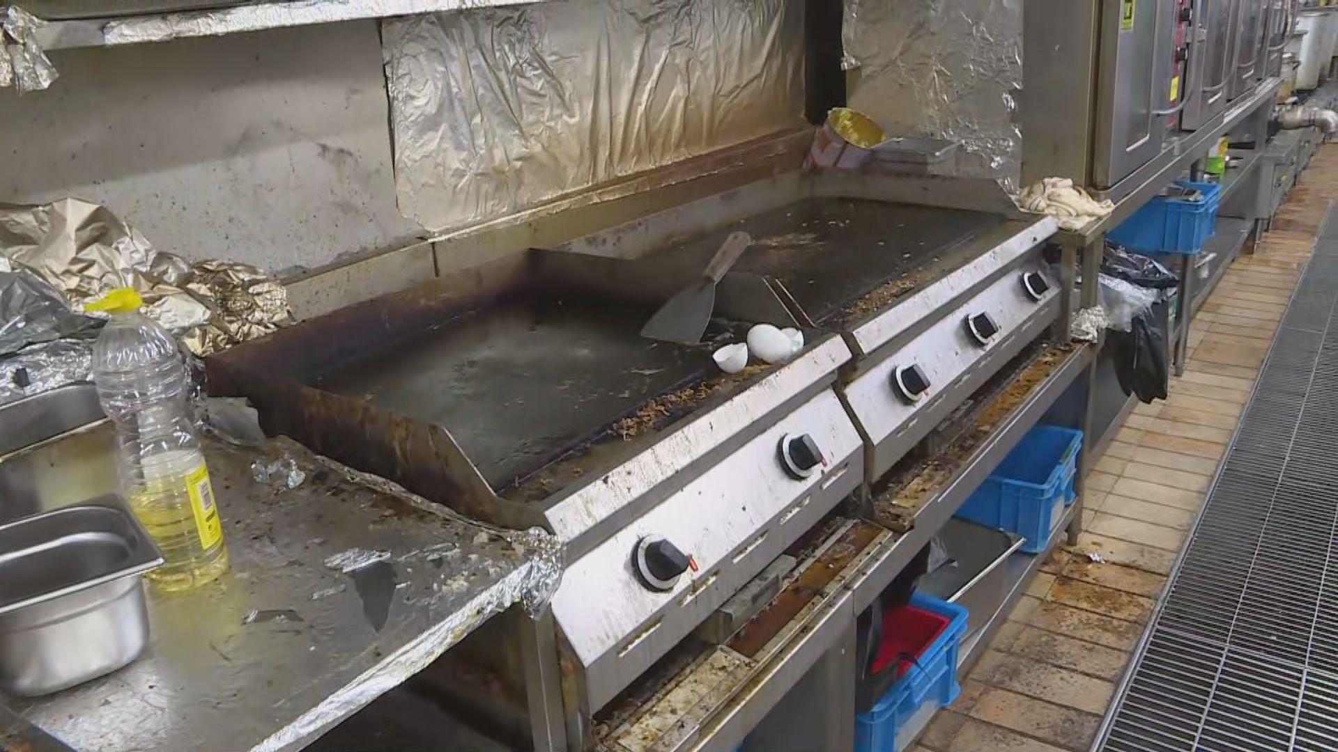 理大飯堂傳惡臭 廚房有食材生蟲