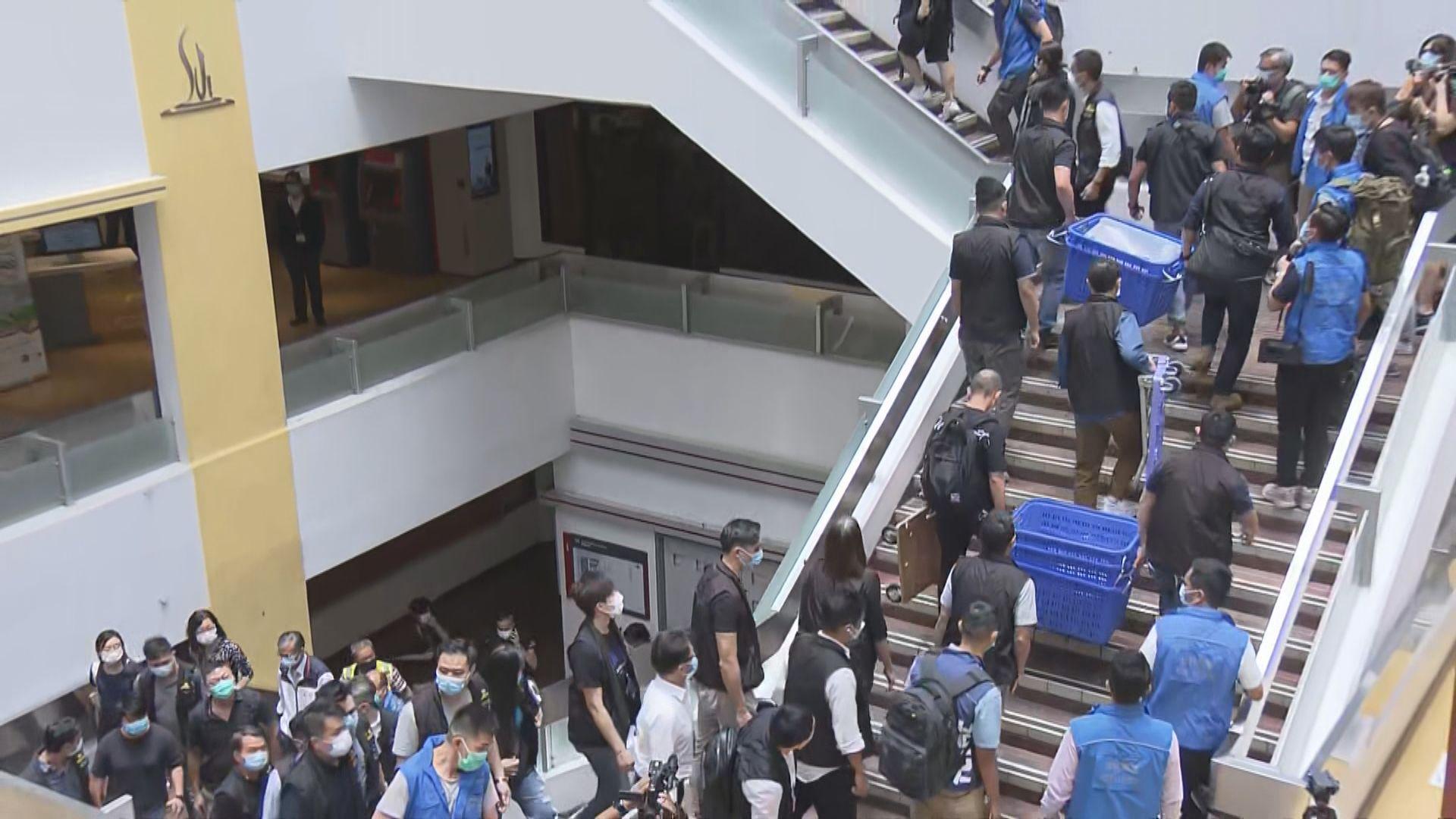 理大學生會:警方獲得手令搜查校園範圍調查一宗暴動案