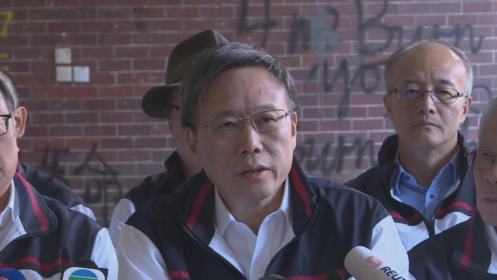 滕錦光認為理大事件和平解決 避過更大浩劫