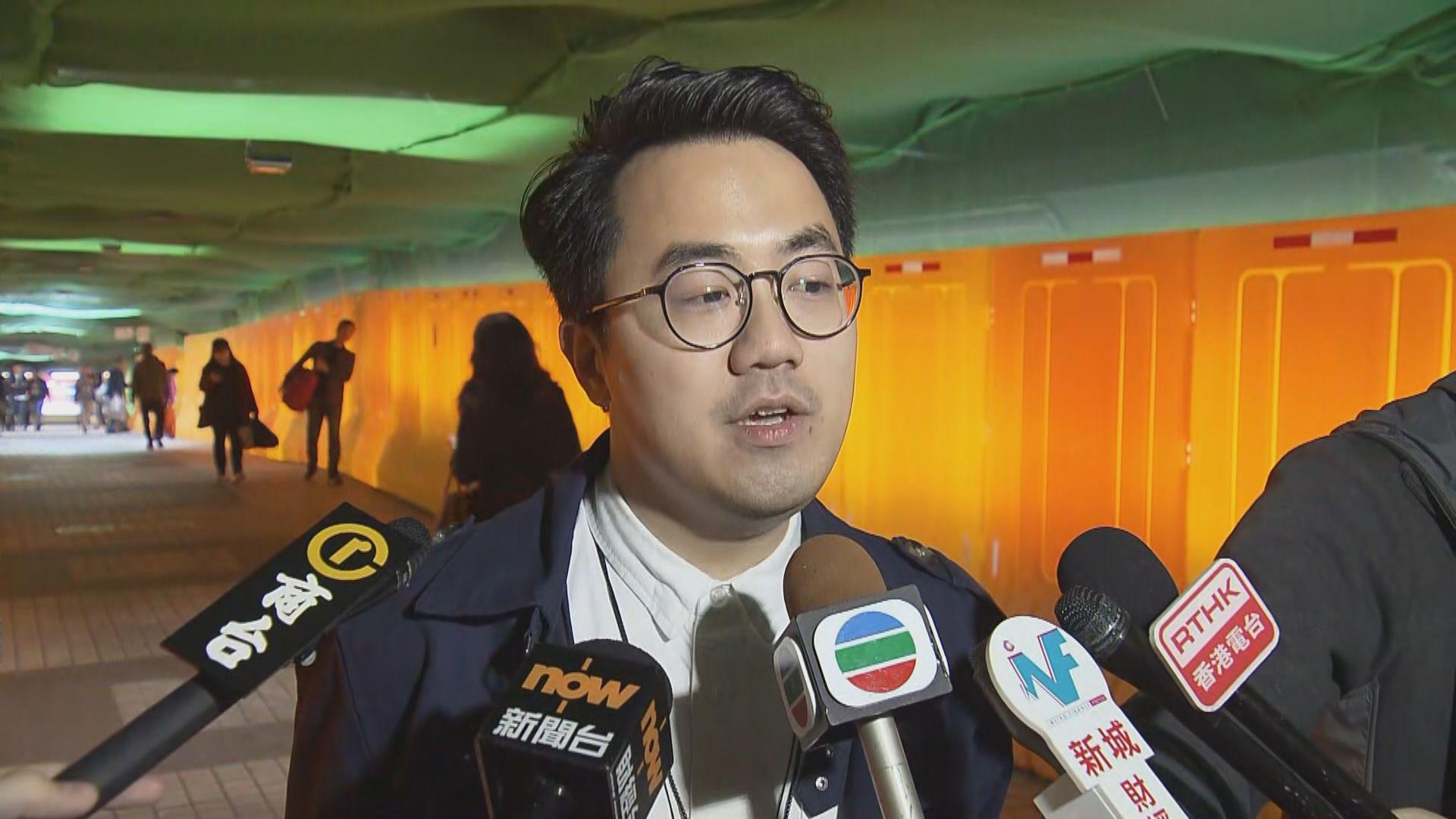 李傲然:理大校方安排二月復課決定言之過早