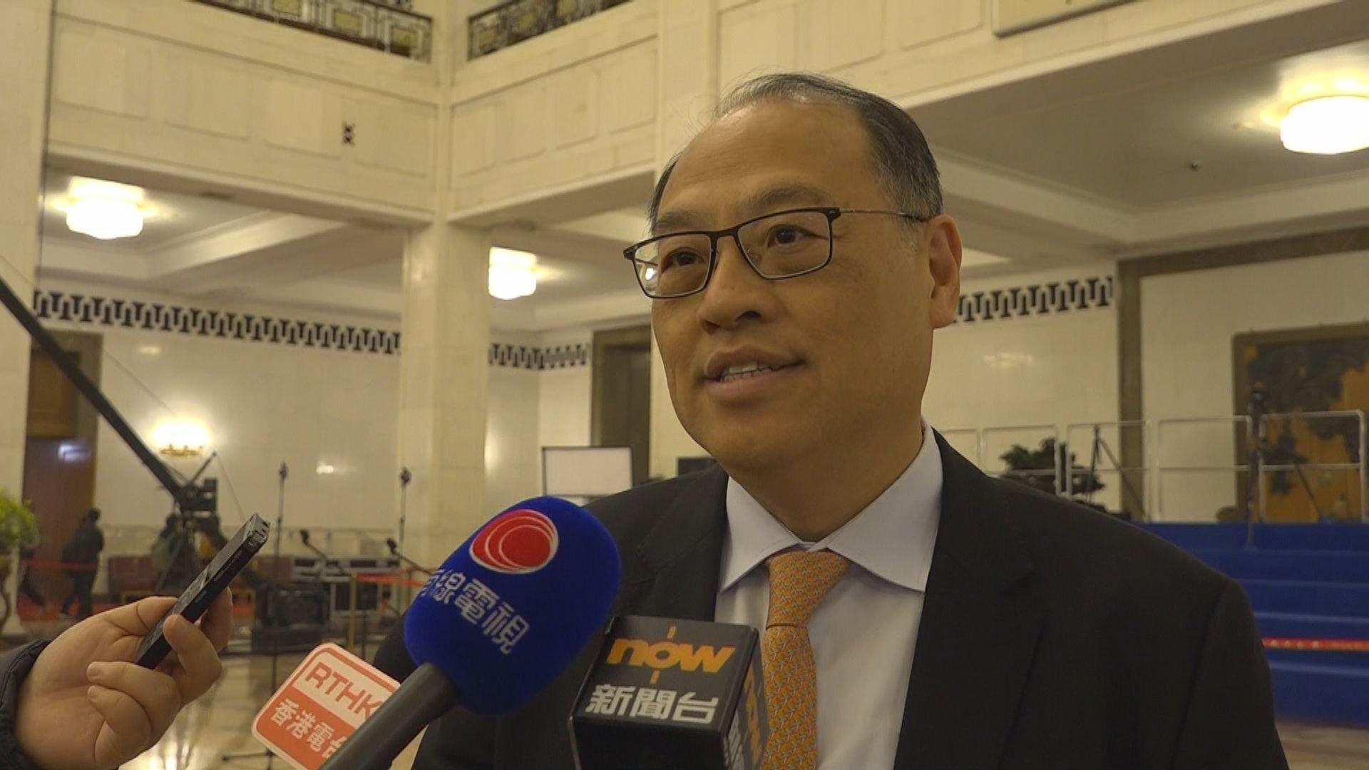 林大輝:坊間對理大民主牆事件認知程度不同