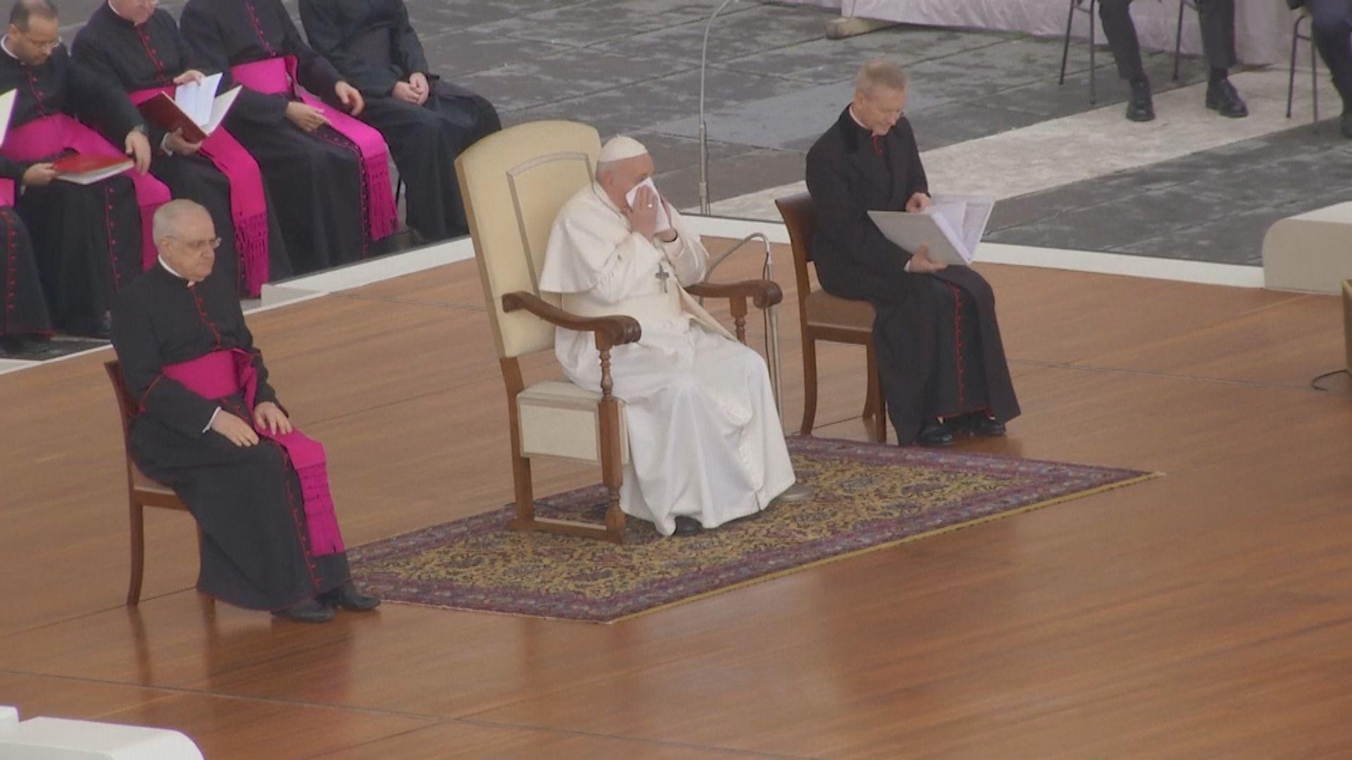 教宗方濟各宣布因身體不適取消出席靈修活動