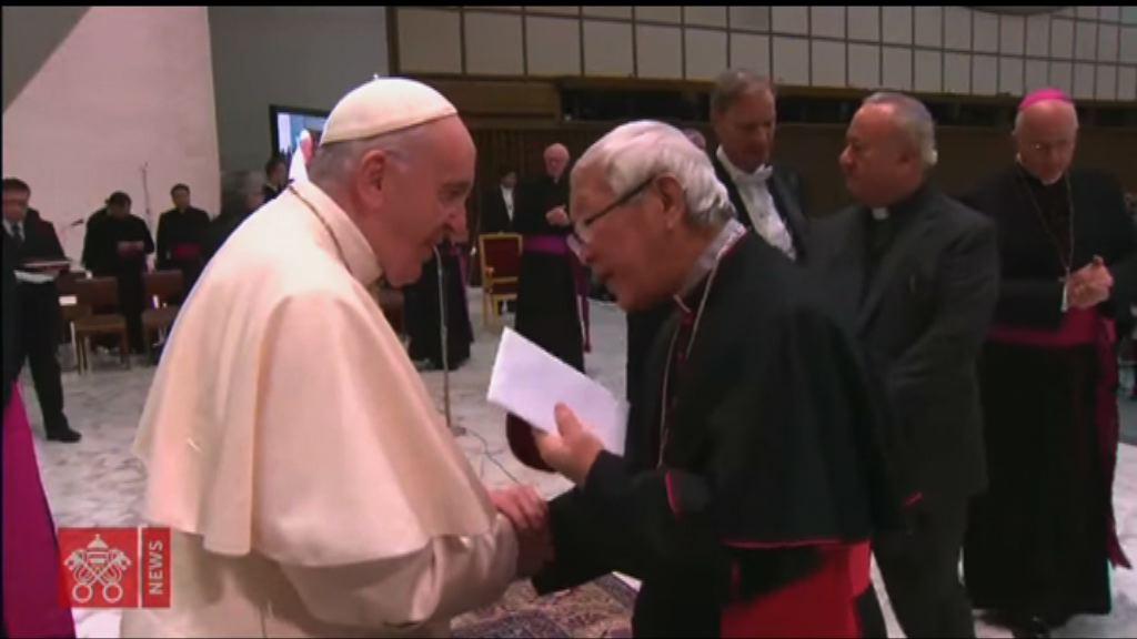 梵蒂岡不點名批評陳日君混淆視聽及引起爭議