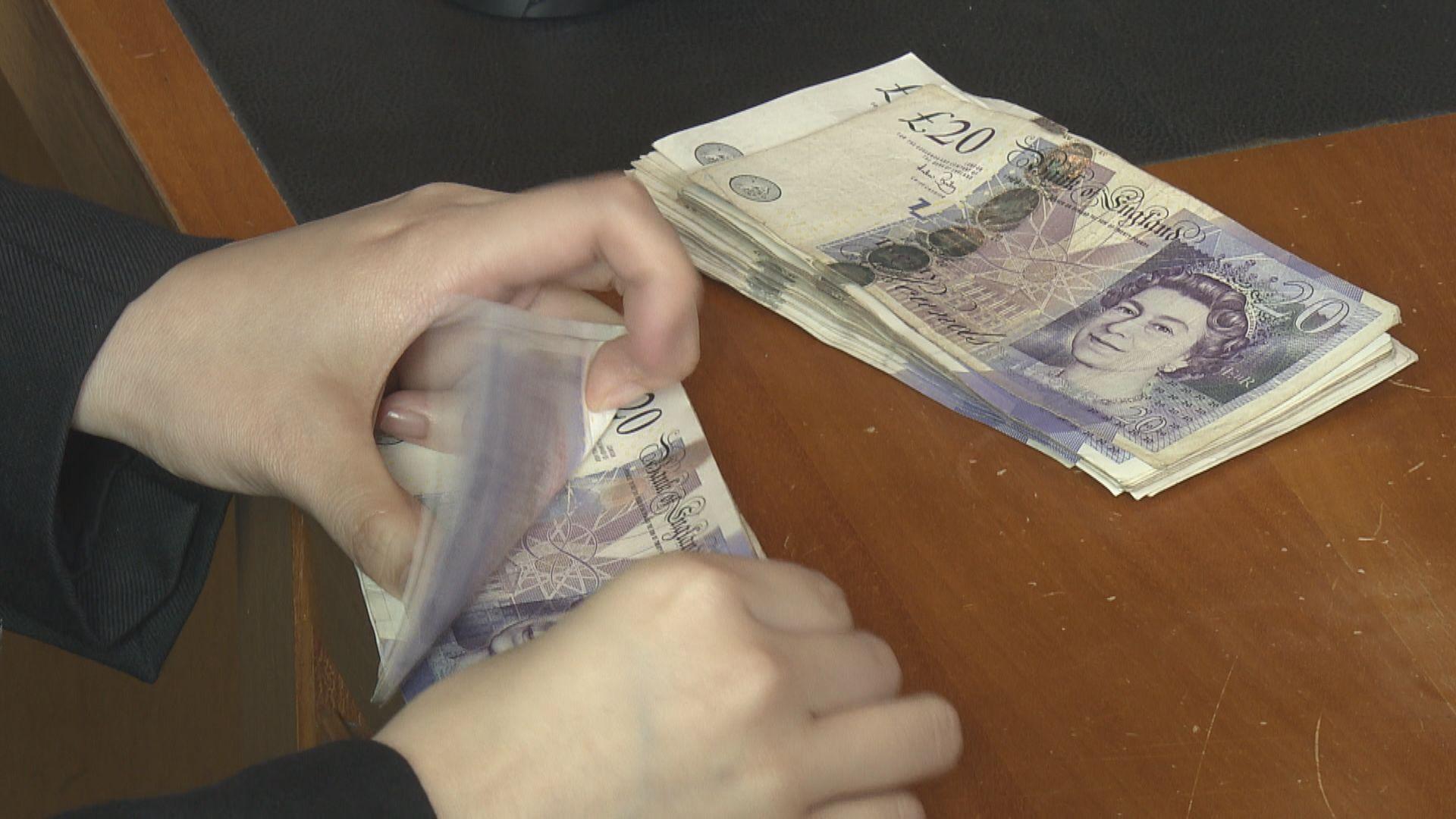憂慮英國無協議脫歐 英鎊4連跌並見逾一周低位