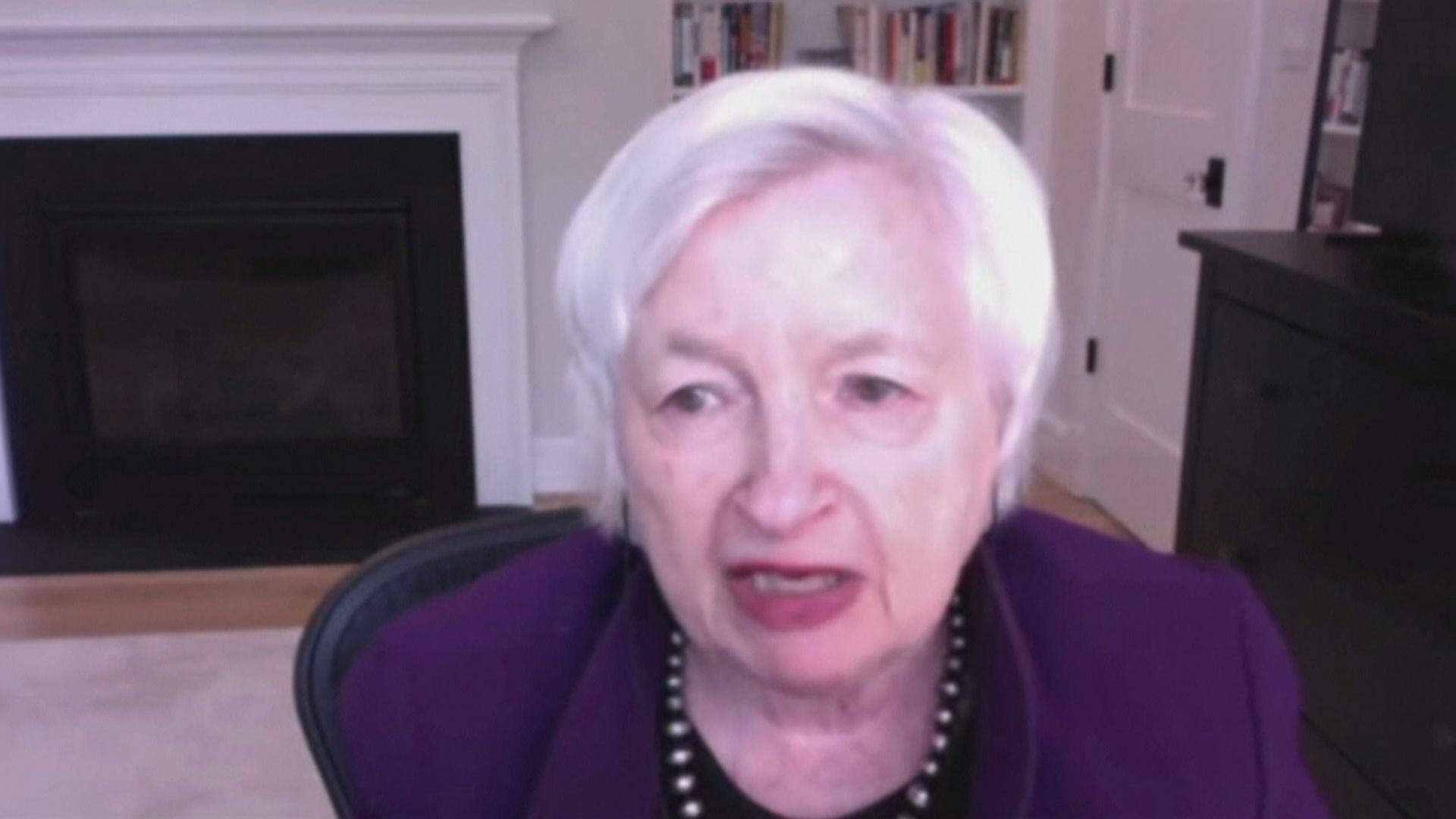 耶倫:美國經濟仍然處於疫情危機中