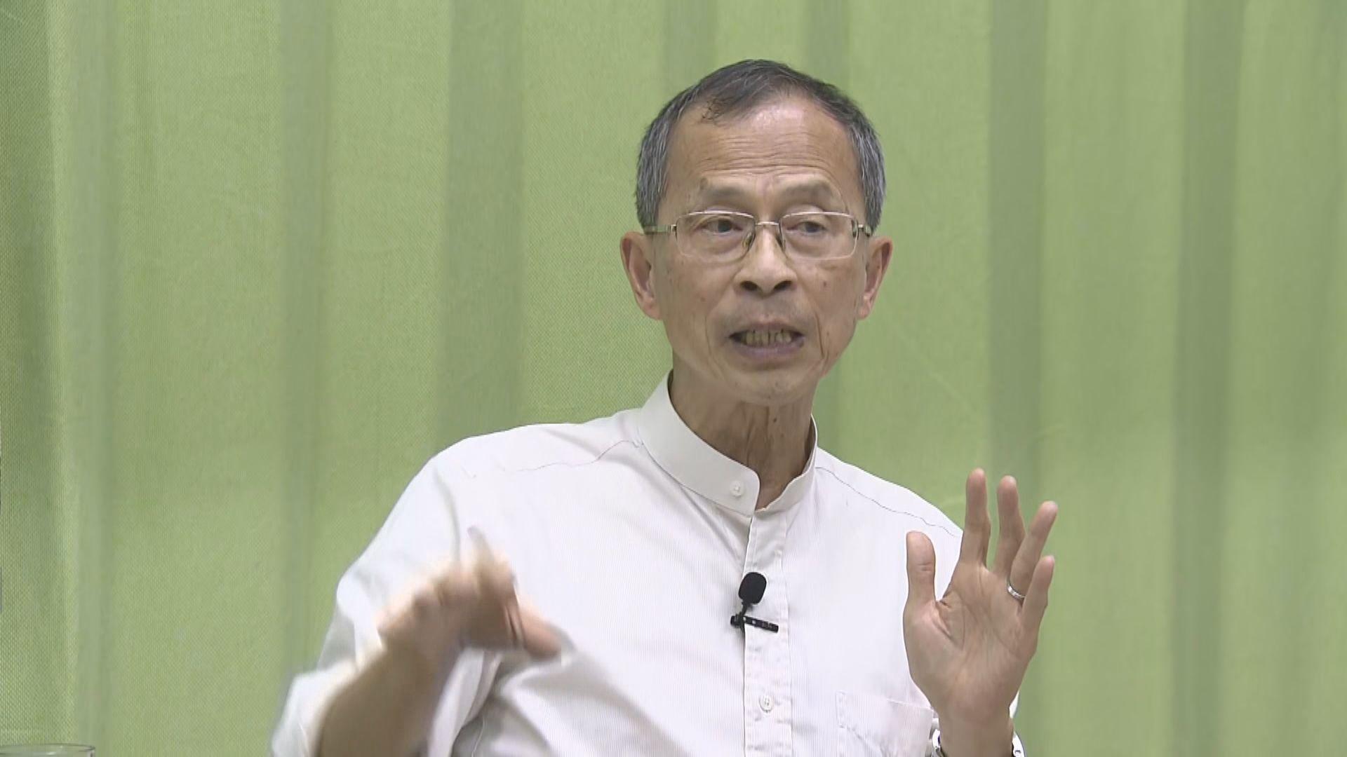 曾鈺成:香港從無三權分立 政府無意挑戰司法獨立