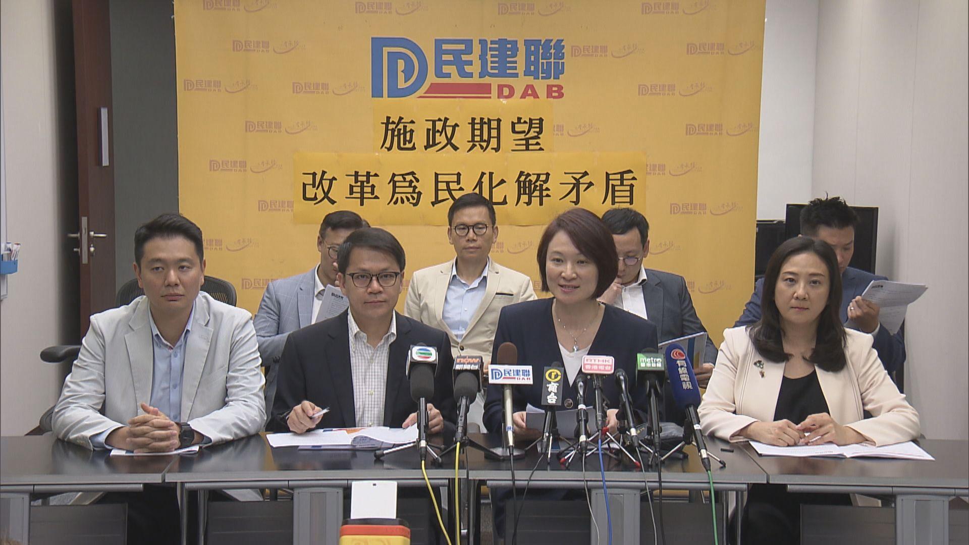 多個政團建議政府增加房屋供應