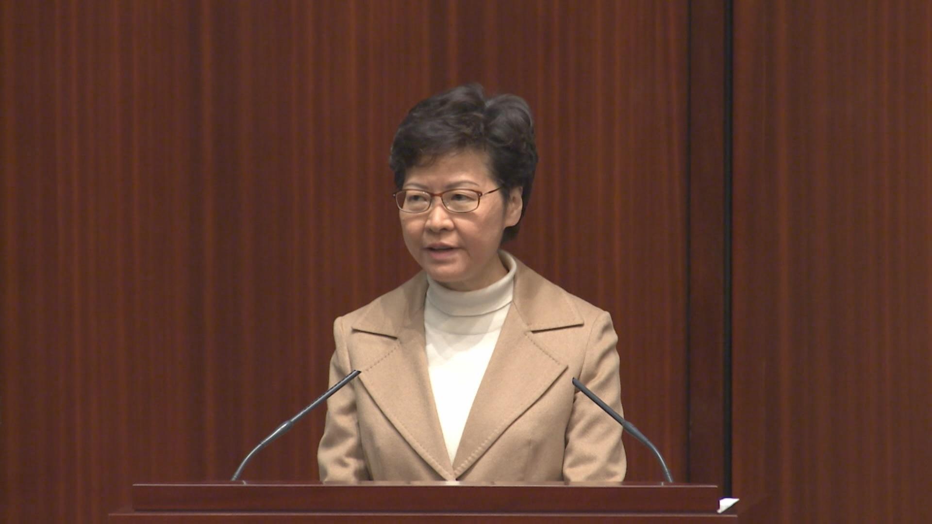 建制派促推全民強制檢測  消息︰林鄭指有難度需配合「封城」