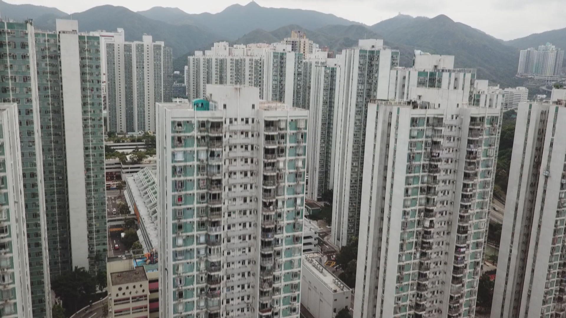 私樓售價指數連跌兩個月 租金持續創新高