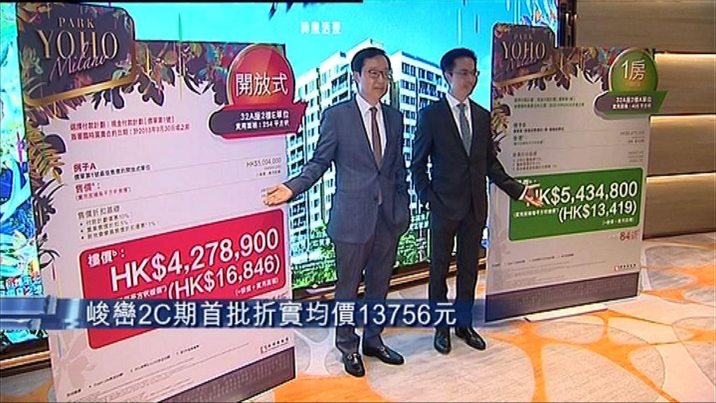 【貴絕錦田】峻巒2C期首批折實均價逾1.3萬