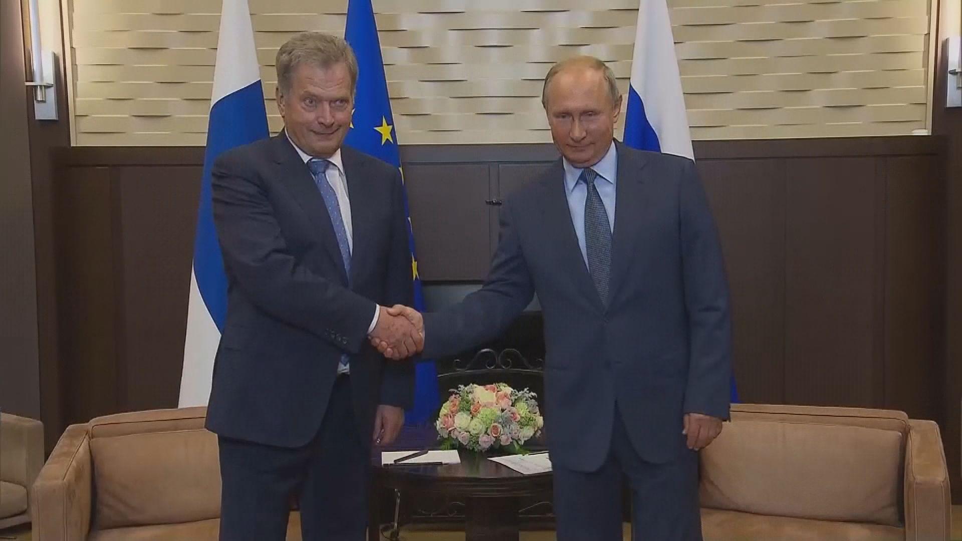 普京批評美制裁俄羅斯愚蠢