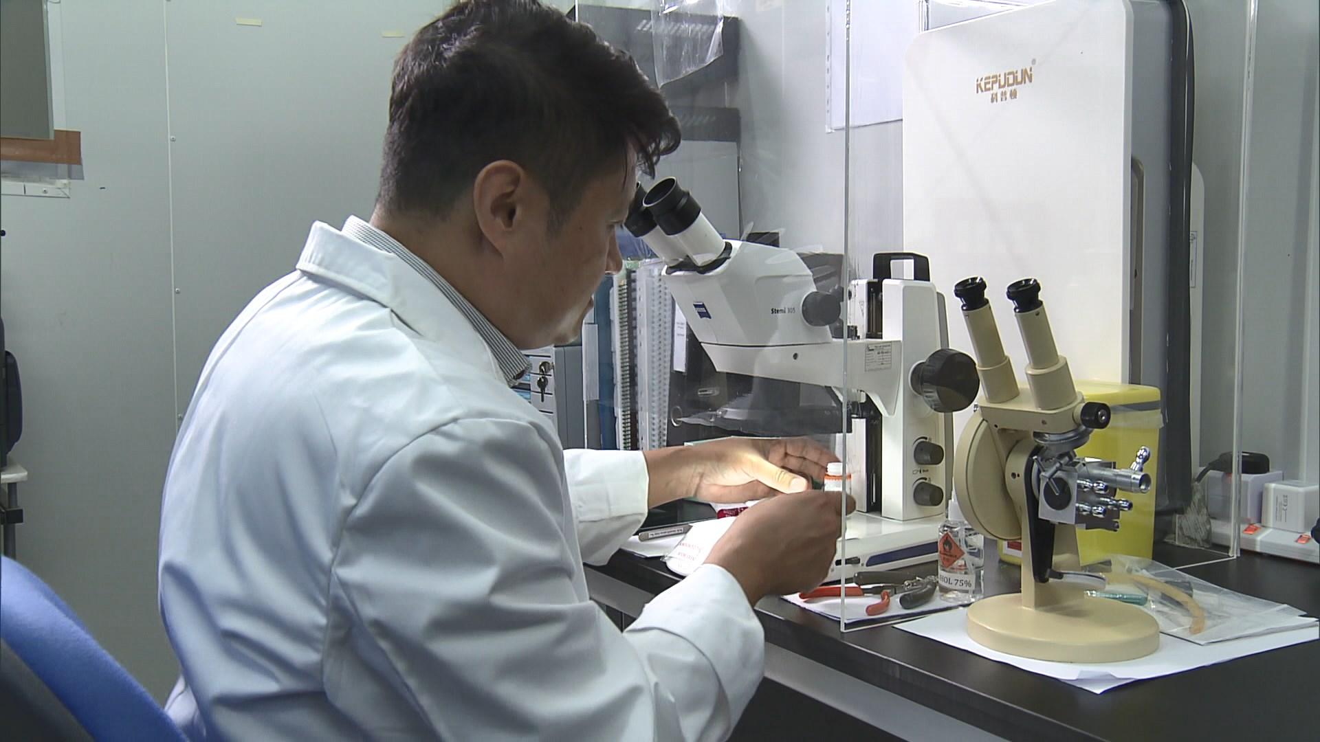 註冊顧問指石棉的風險高低視乎位置及種類