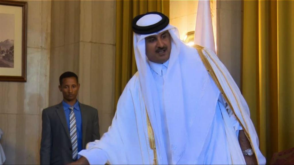 卡塔爾元首支持伊朗或成斷交主因