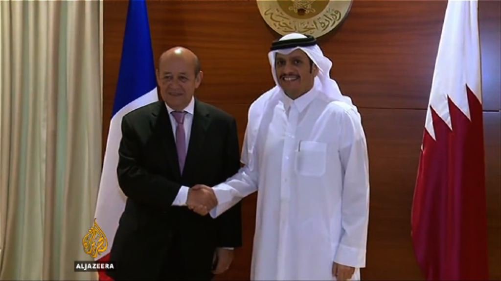 法國促沙特等國停止懲罰卡塔爾