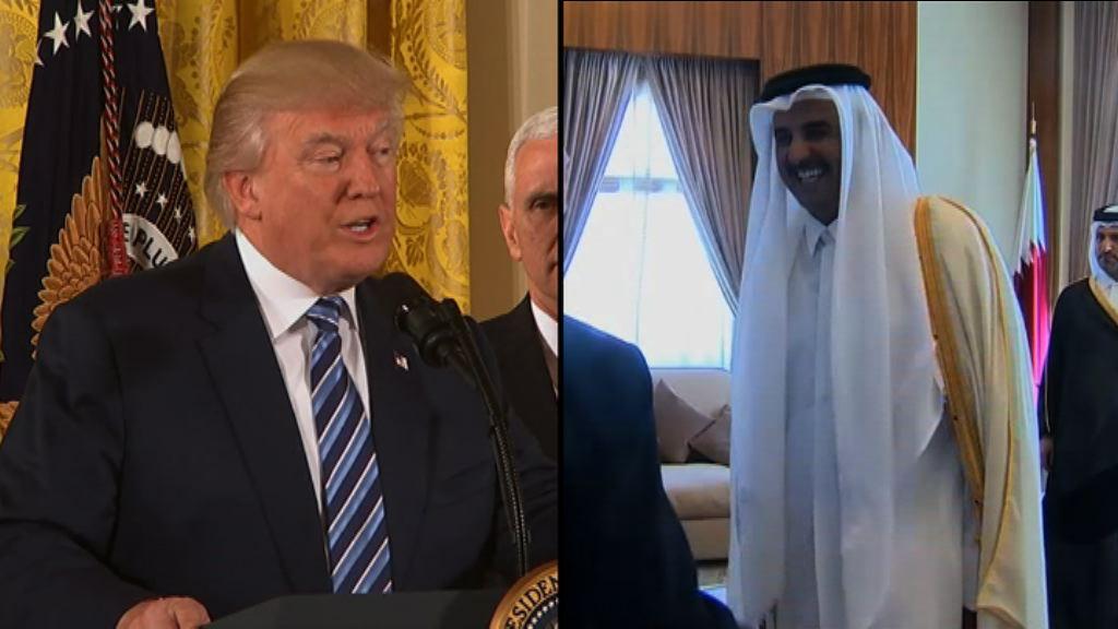特朗普倡各方開白宮會議解決外交危機