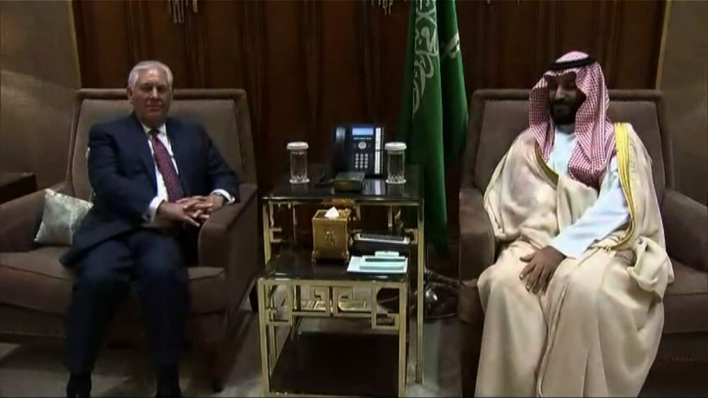 蒂勒森再籲中東國家與卡塔爾對話