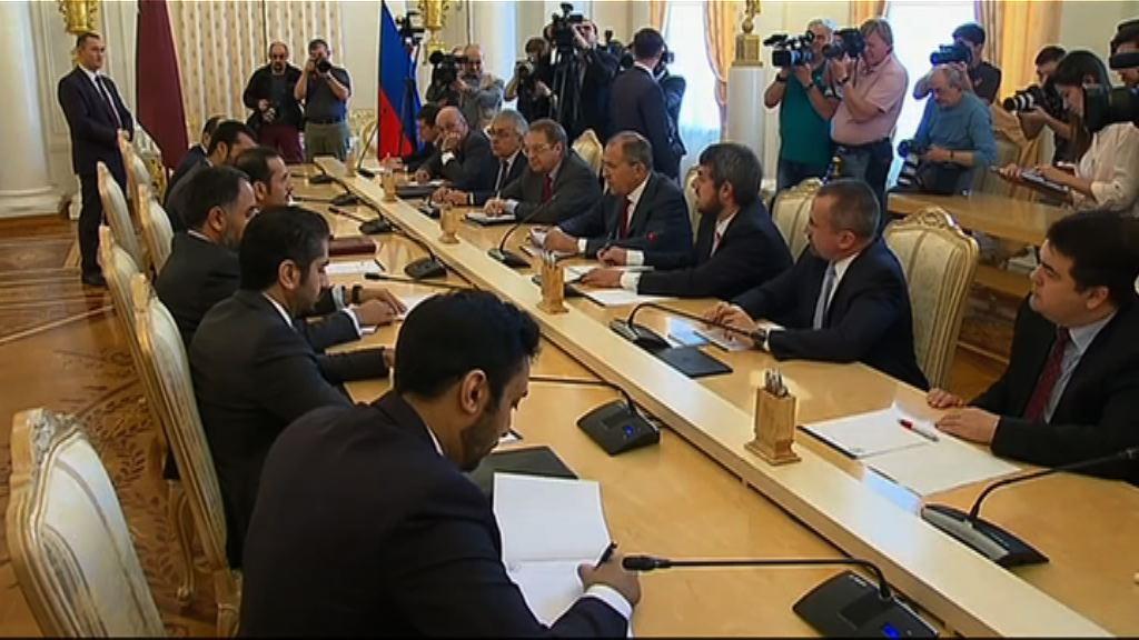 卡塔爾尋求俄國斡旋斷交風波