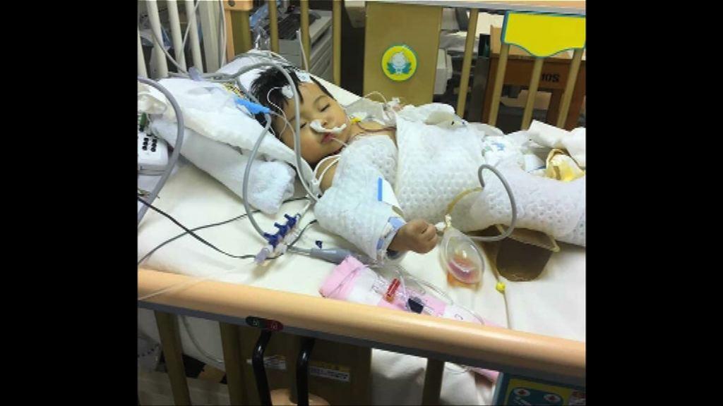 女嬰瑪麗醫院手術後昏迷 院方處理手法受質疑