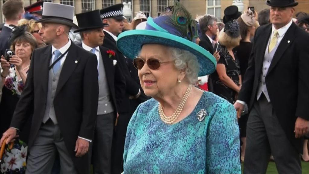 英女王上月入院做白內障手術