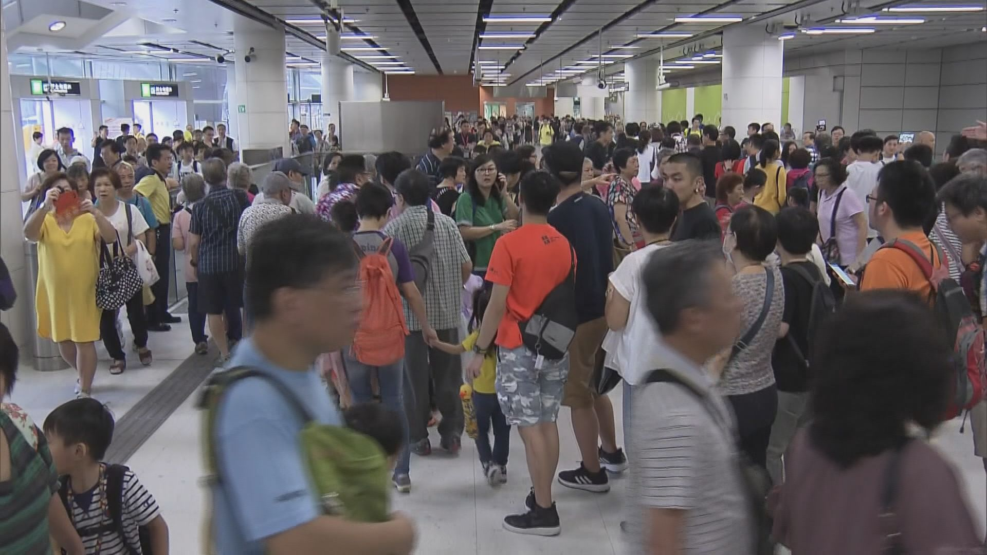 高鐵西九站舉行開放日