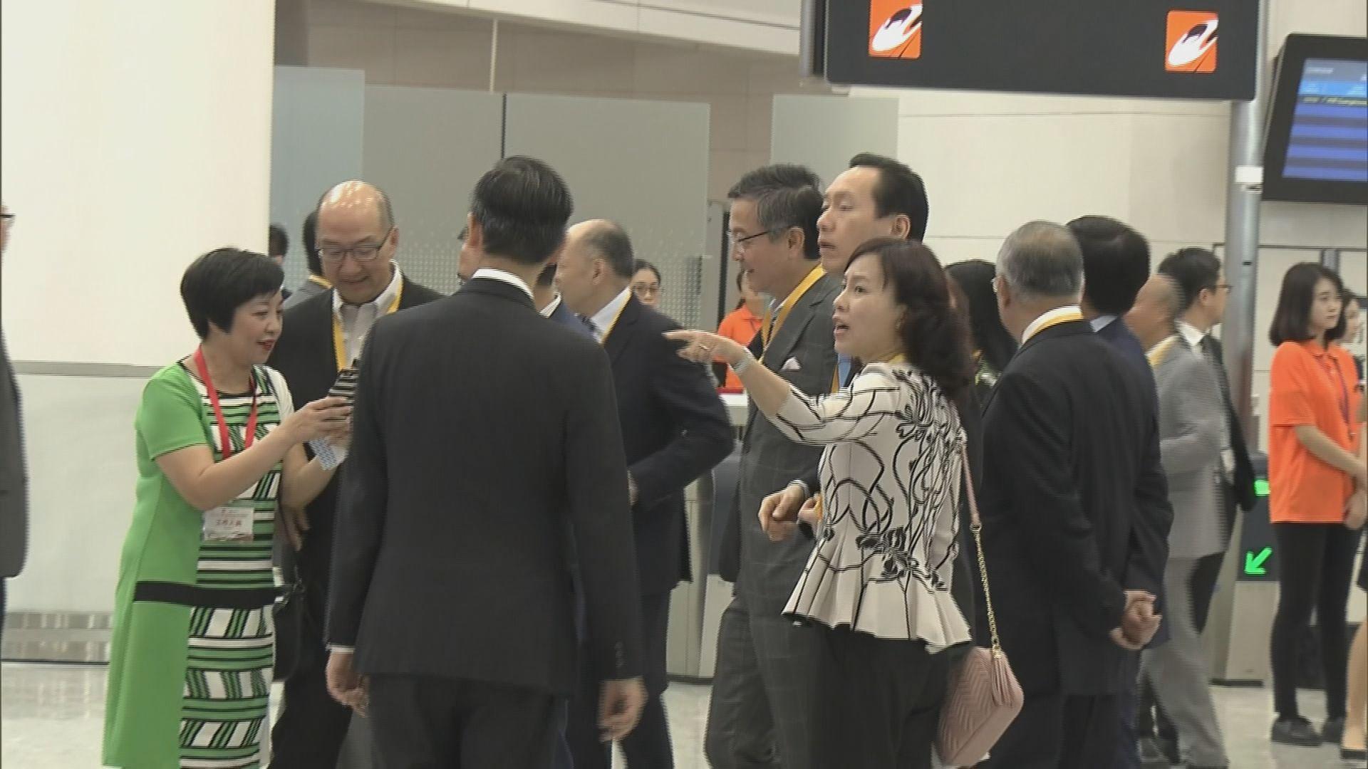 廣深港高鐵香港段今舉行開通儀式