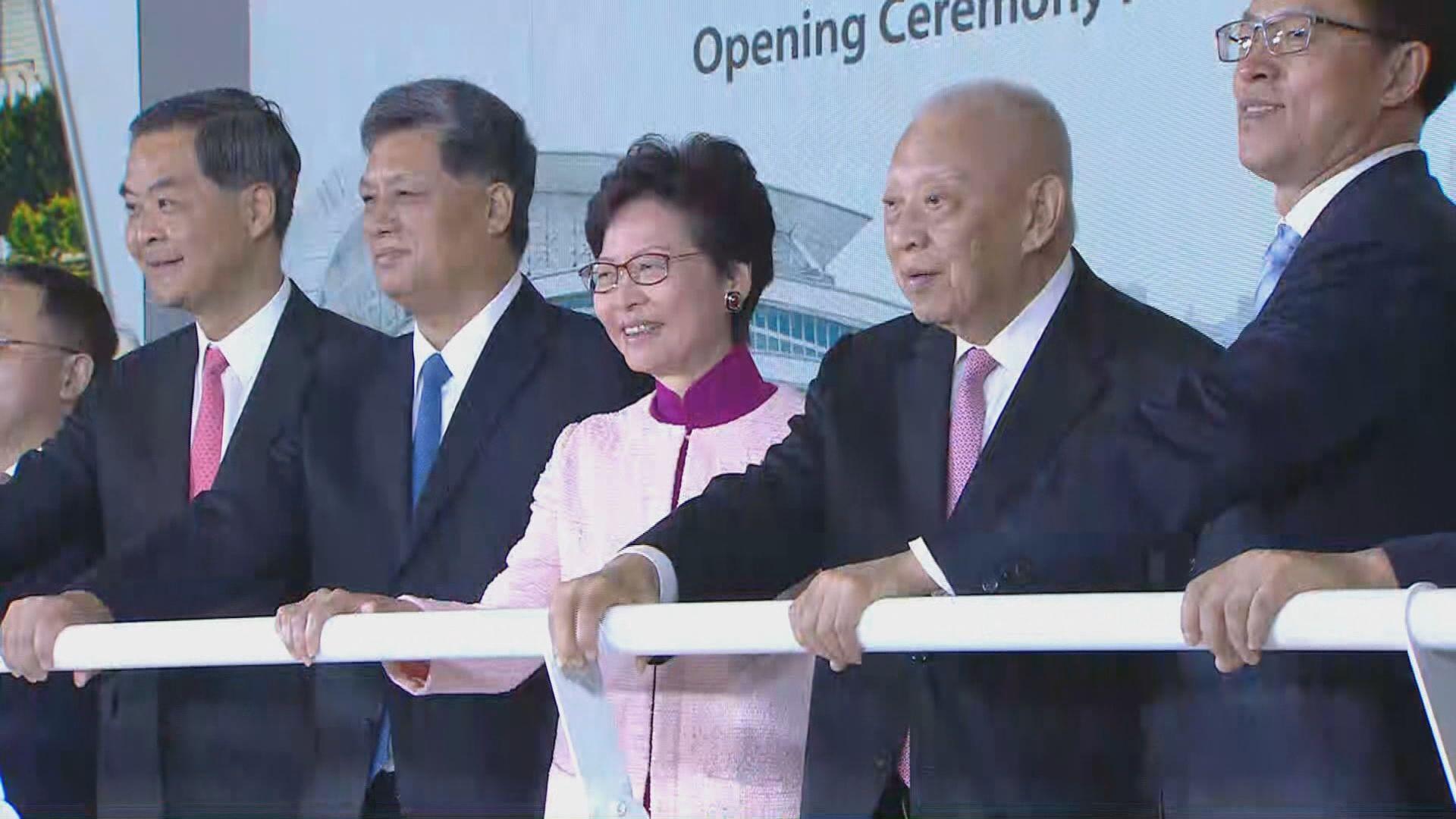 林鄭:高鐵香港段將創造更多發展機遇
