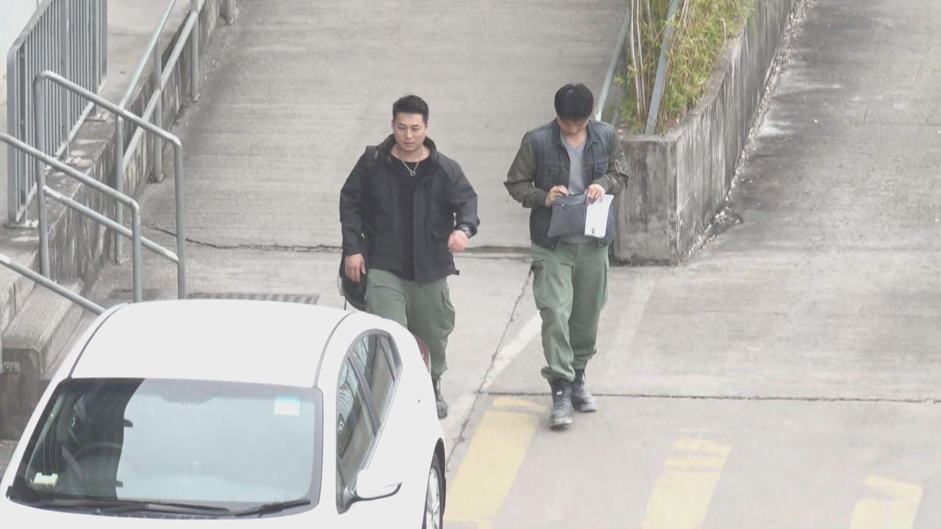重案組派員到紅磡站地盤辦公室搜證