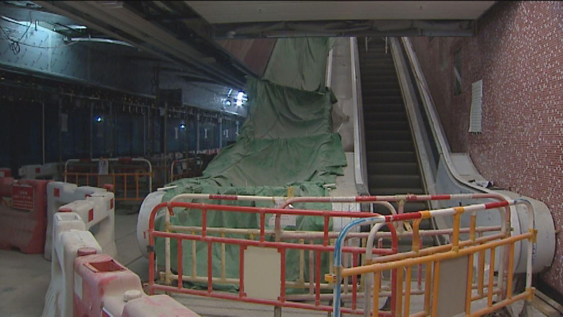 沙中綫紅磡站再多一支鋼筋不達標