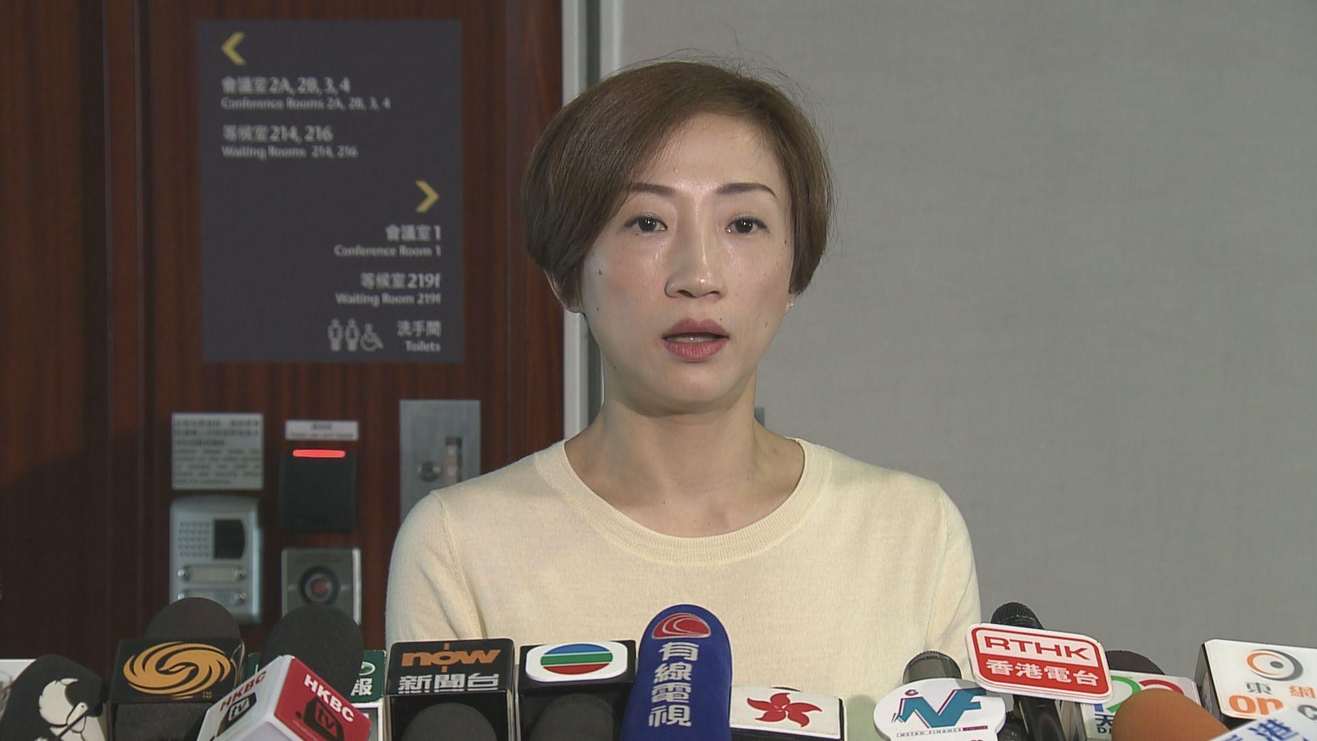 陳淑莊:政府需交代西九龍站B5層資料