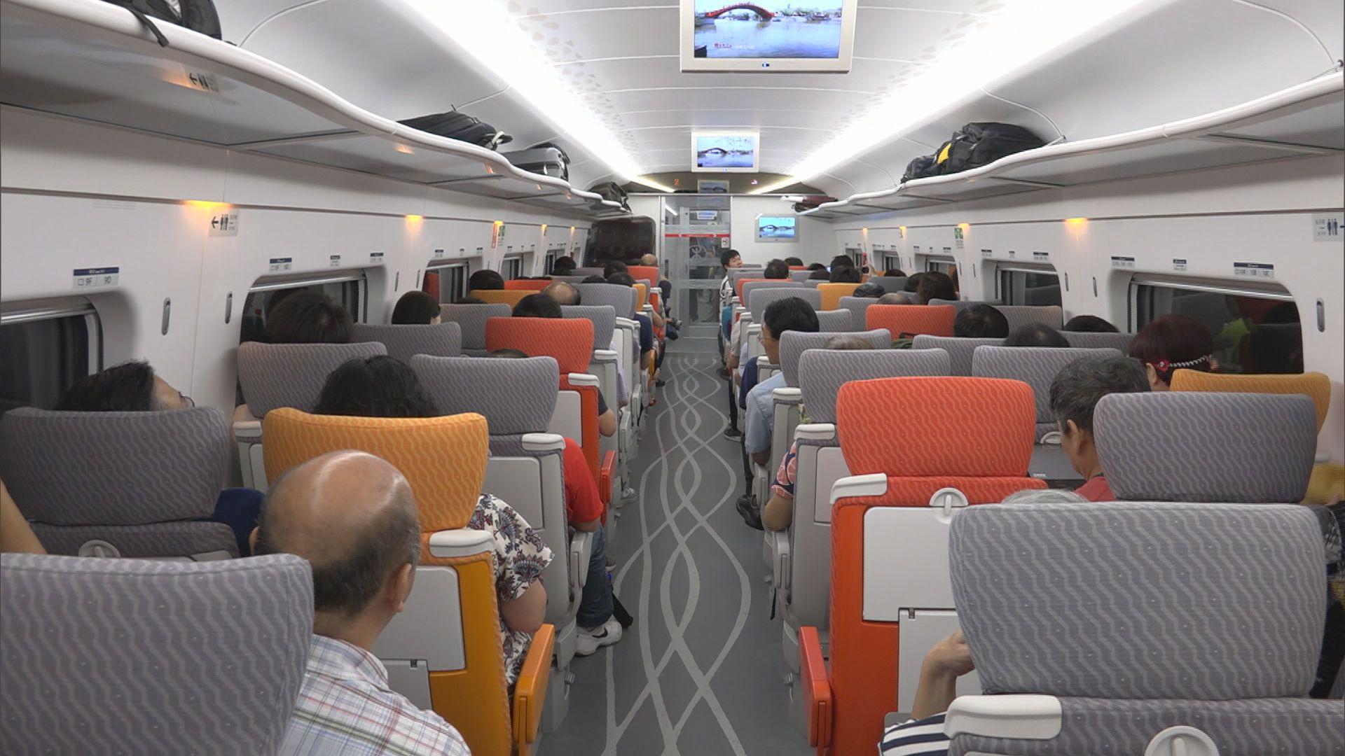 高鐵香港段開通五日 共23萬人次使用