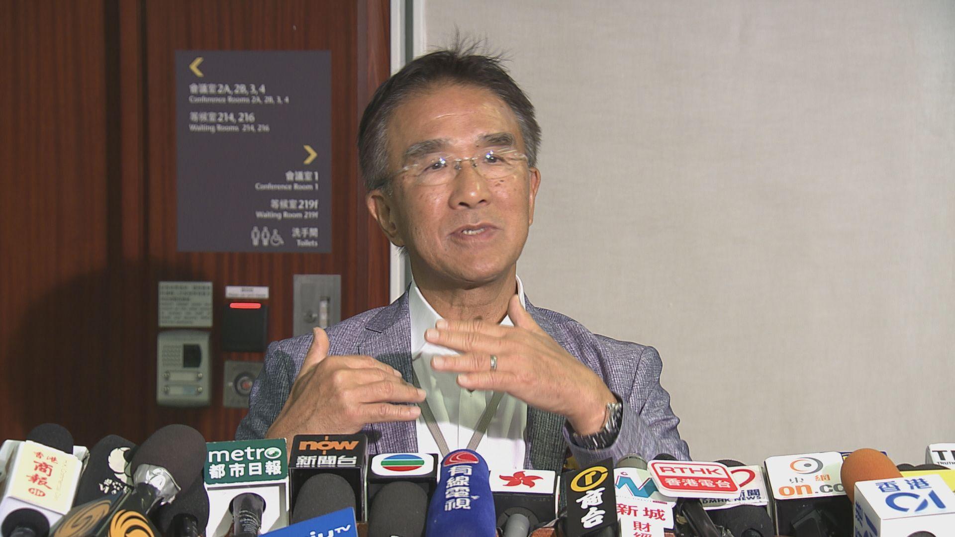 田北辰:政府調低乘客量預測是尊重港鐵估計