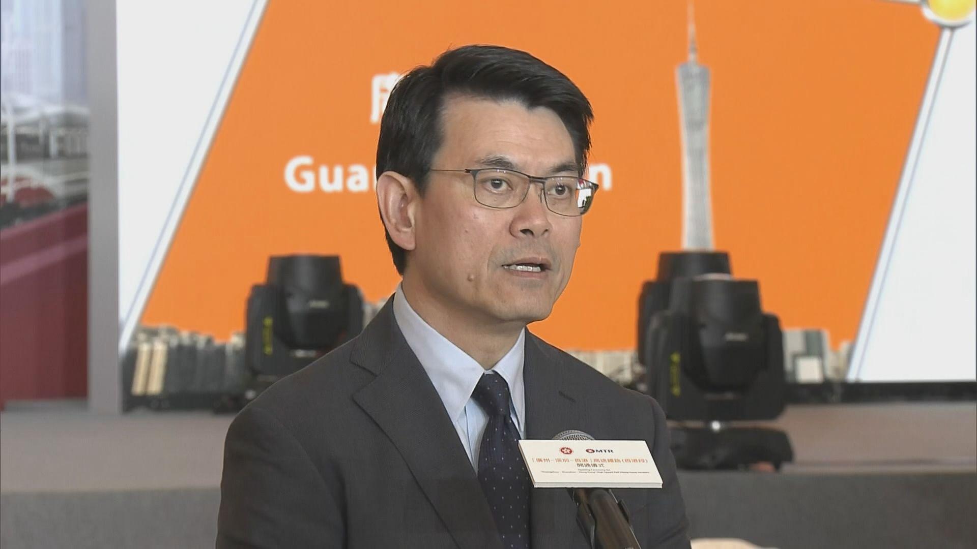 邱騰華:有信心下半年旅遊業繼續向好