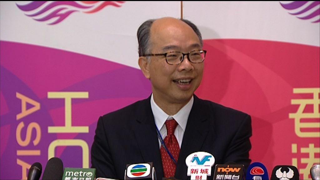 陳帆:有信心高鐵香港段有錢賺
