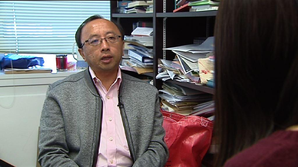 張達明批評林鄭作為特首放棄香港法制