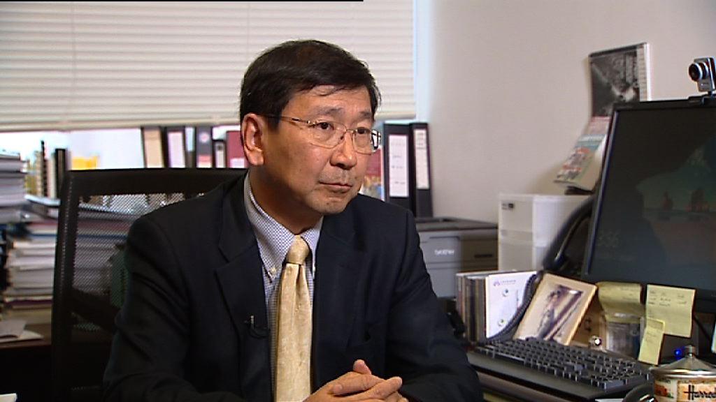 陳文敏:政府未有正面處理一地兩檢法律爭議