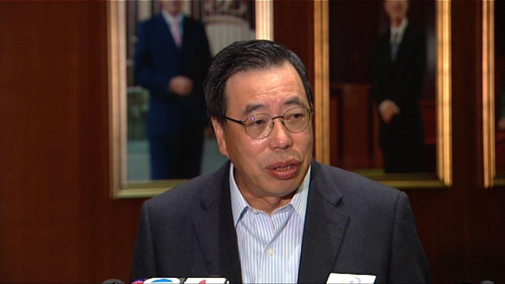 梁君彥:限時辯論非因中西環施壓