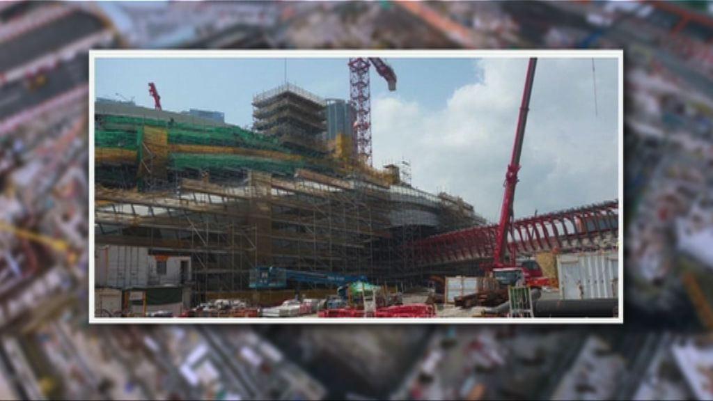 高鐵香港段整體工程截至三月底完成九成
