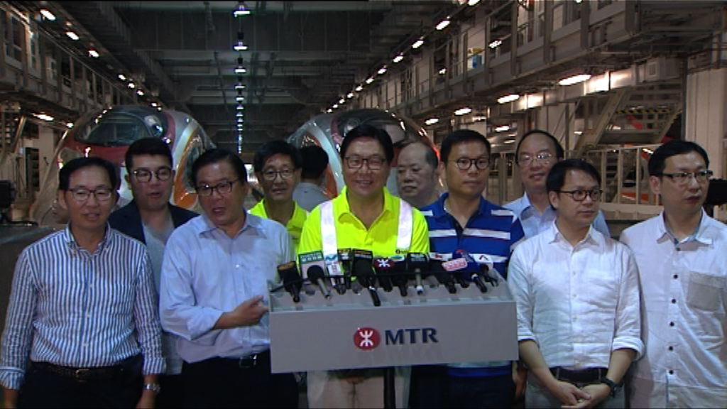 馬時亨:高鐵每月八千萬營運費用只屬估算