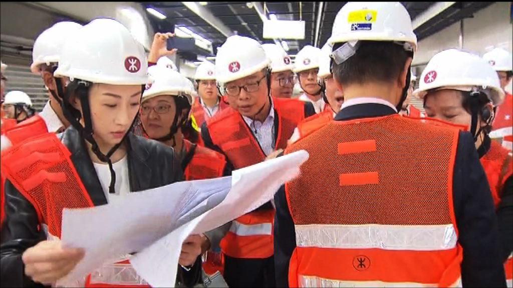 泛民議員批評高鐵考察走馬看花
