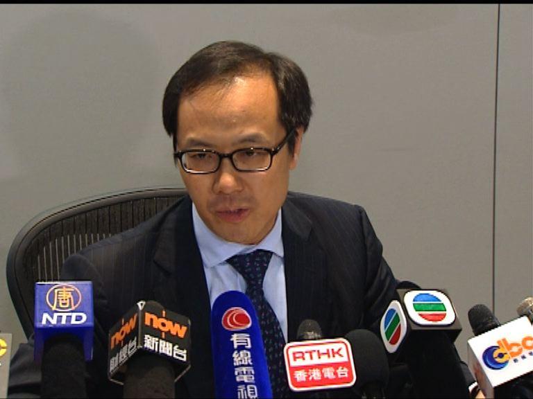 梁繼昌:政改被否決不影響經濟