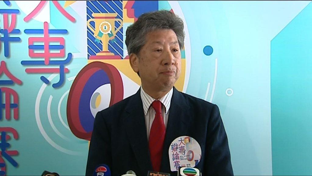 湯家驊:葉劉淑儀撤回譴責許智峯的動議合適