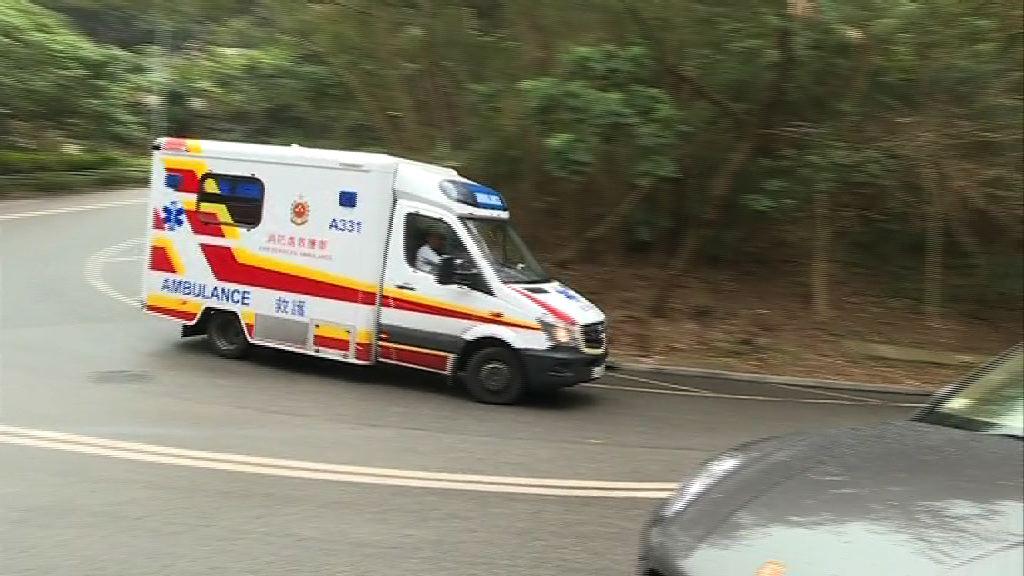 消防總隊目馬鞍山搜救時失足墮崖頭部受傷