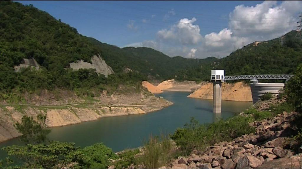 天氣持續酷熱無雨 本港水塘總存量持續下跌