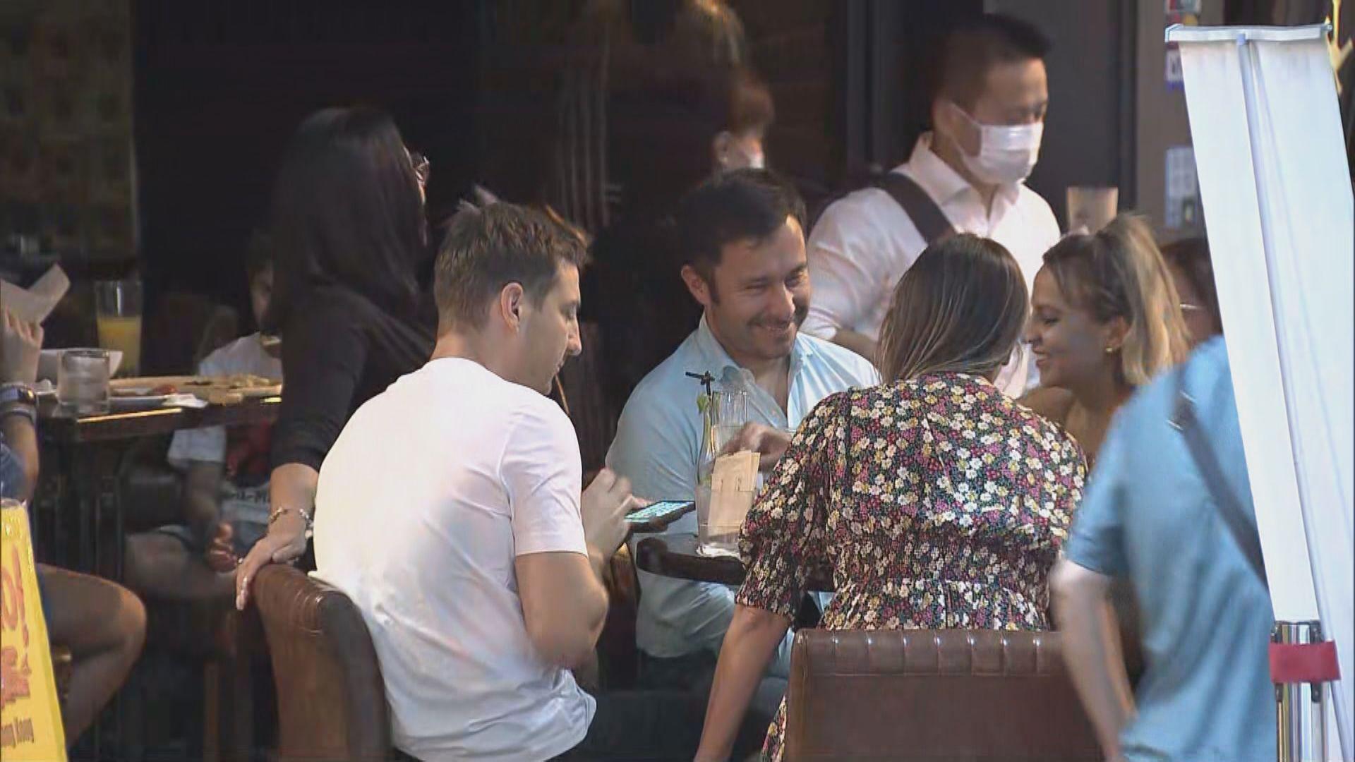 食環署檢控樓上食肆及酒吧 87名顧客遭票控違反限聚令