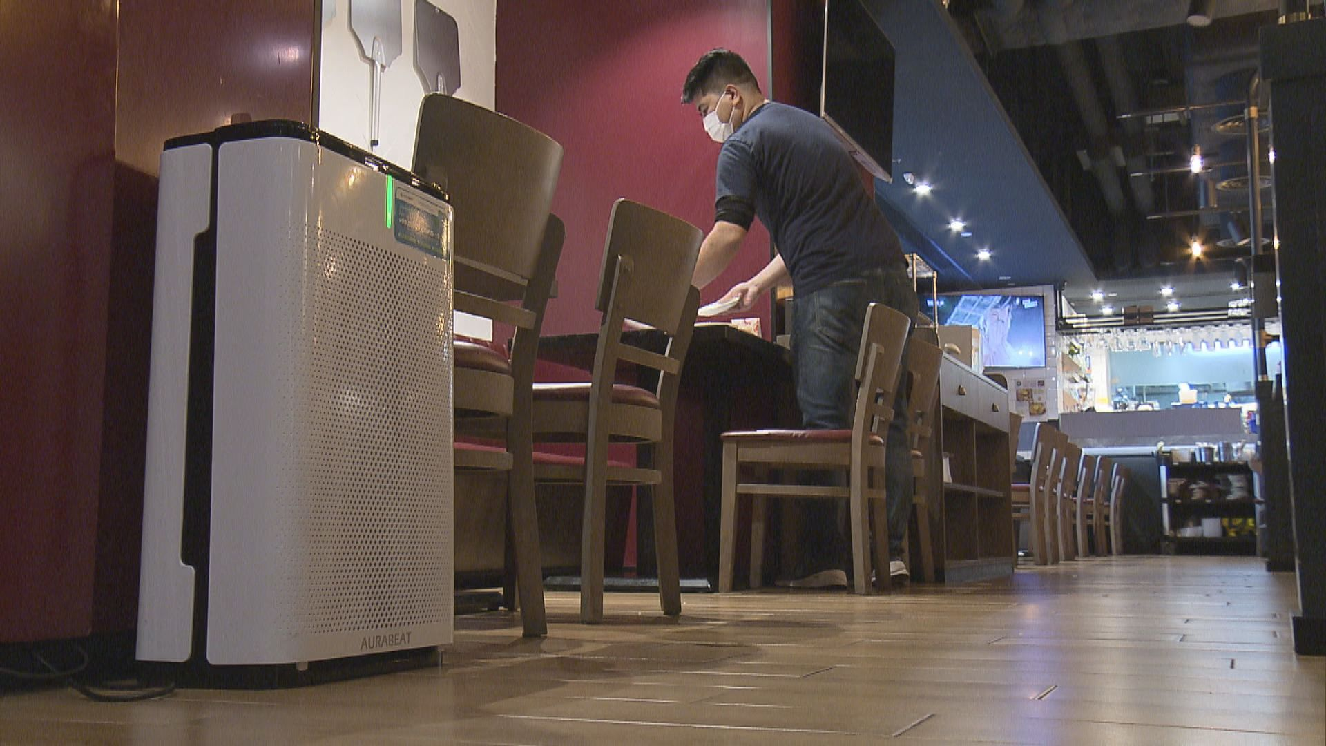 約1400間餐飲處所登記換氣量達標