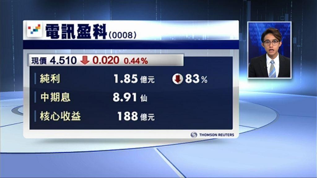 【業績速報】電盈賺1.85億 Now EBITDA增19%