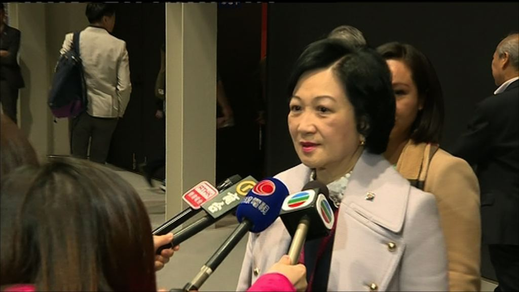 葉劉淑儀:現無意加入下屆政府