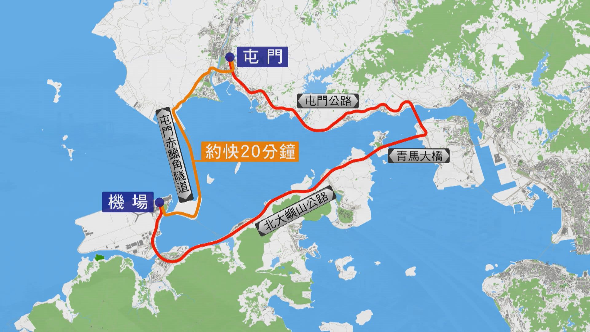 屯赤北面連接路明日啟用 居民期望新路可節省交通時間
