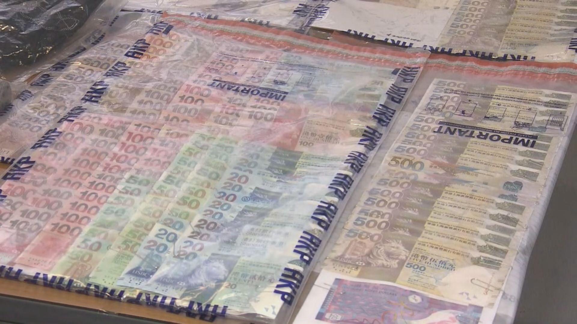 四名男子涉油麻地一千六百萬元行劫案被捕